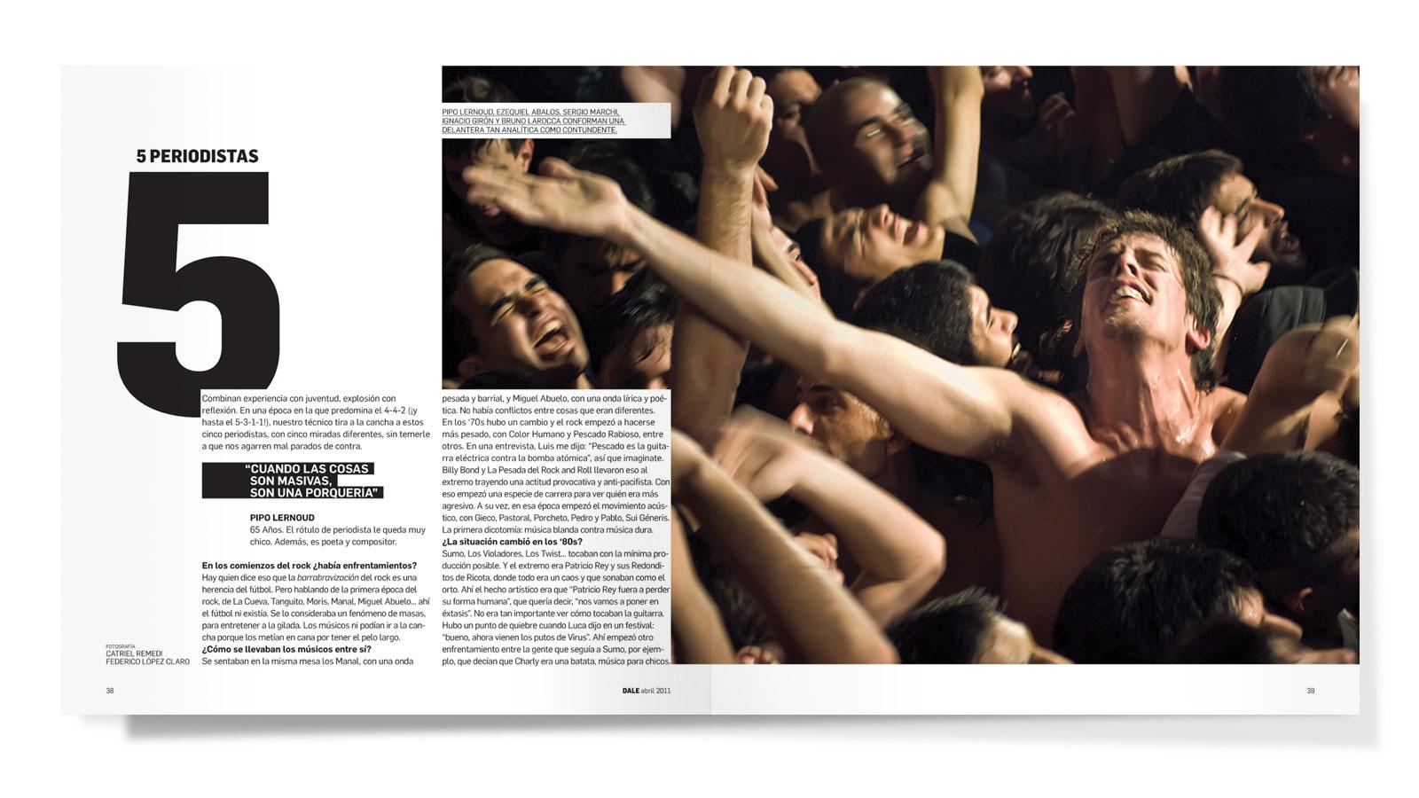 Dale, revista de rock