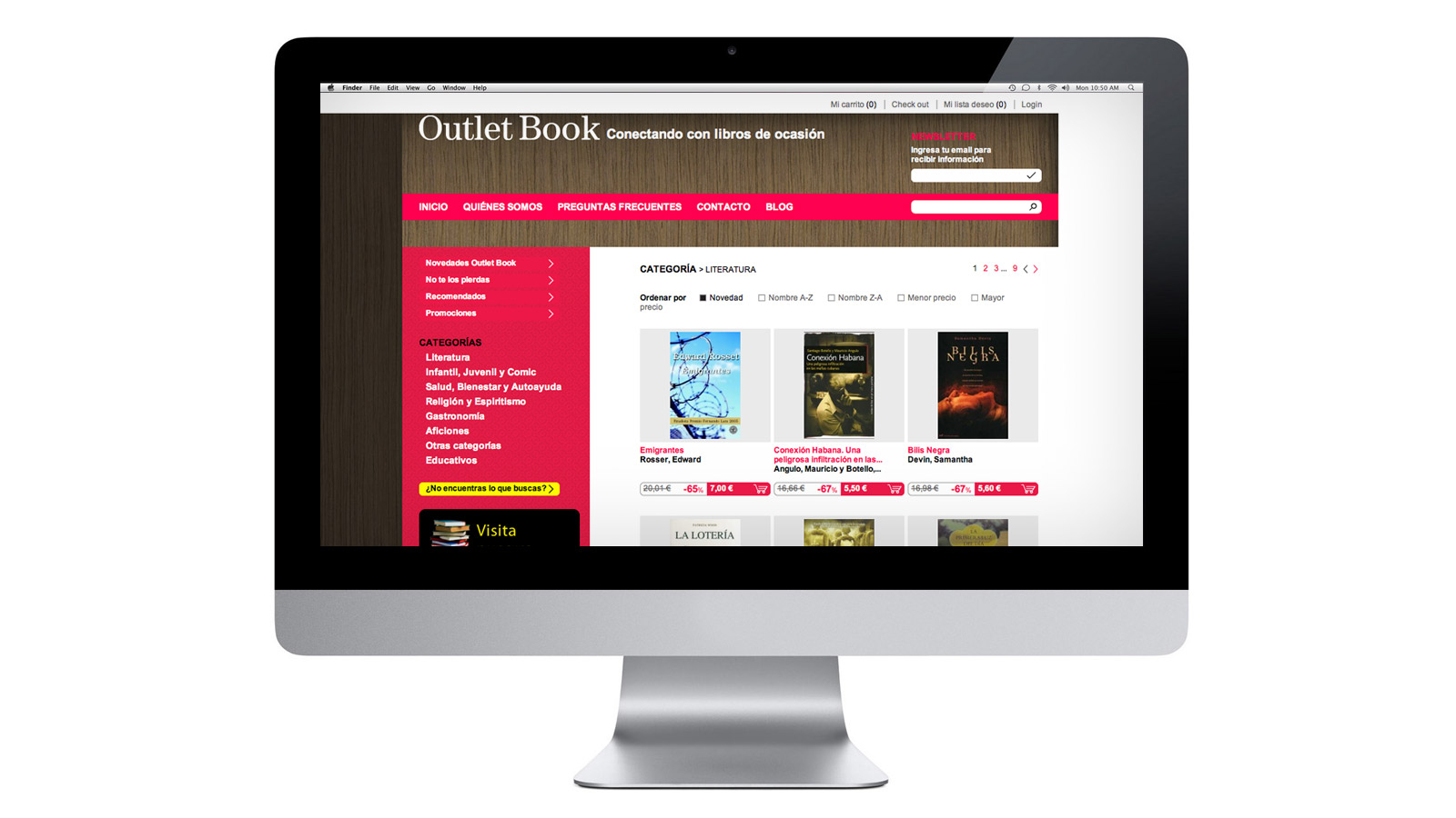 Outlet Book
